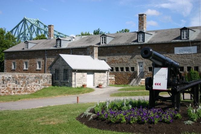 Musée Stewart à Montréal sur l'Ile Saint Hélène