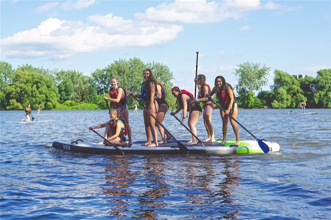 Kayak, Surf et SUP à Montréal