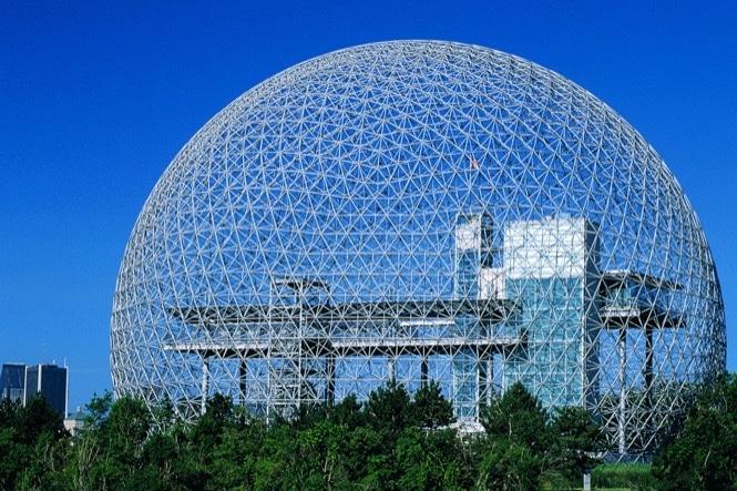 La Biosphère de Montréal sur le Parc Jean Drapeau