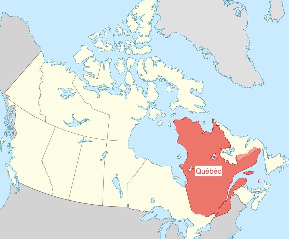 Quelle partie du Canada parle français